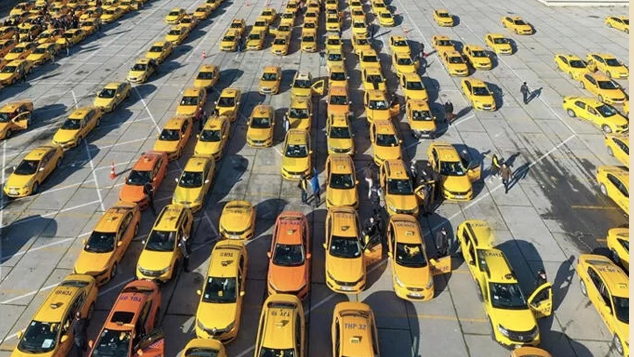 İstanbul Havalimanı'nda çalışan 400 taksi bağlandı