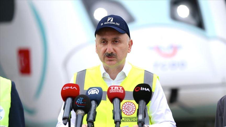 """""""Milli elektrikli tren 30 Ağustos'ta ray ve yol testlerine başlayacak"""""""