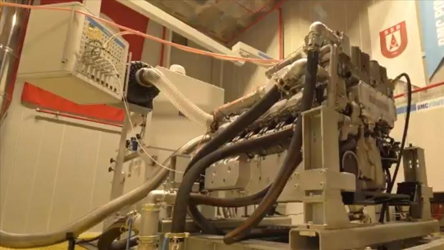 ALTAY tankı için geliştirilen tank motoru BATU'nun ateşlemesi başarılı şekilde gerçekleştirildi
