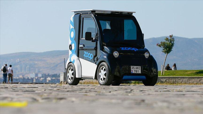 Elektrikli mini araç 'paylaşımlı' olarak yollara çıkıyor