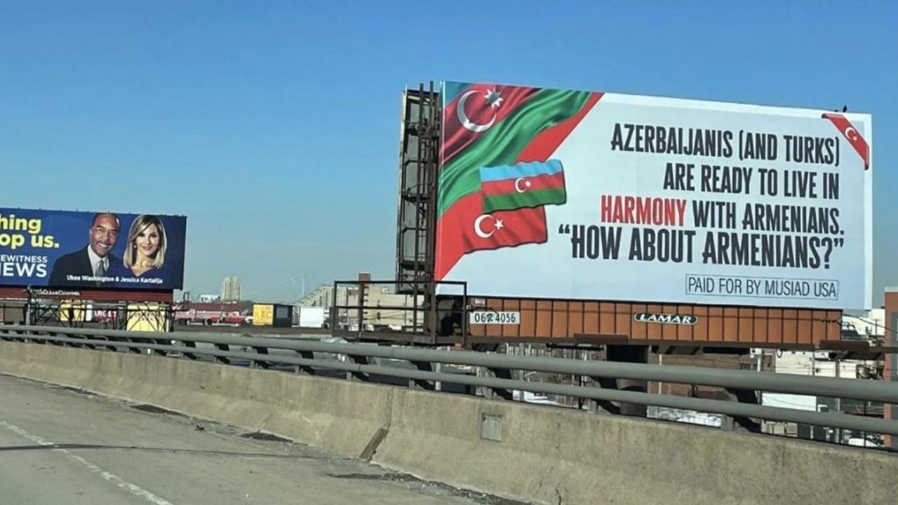 ABD'deki Türklerin verdiği ilanı hazmedemediler!