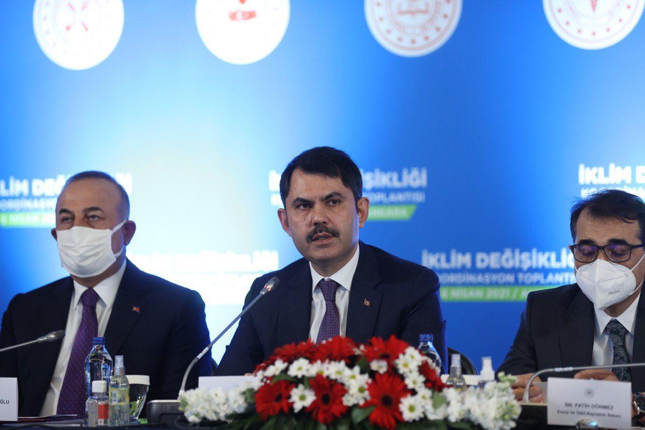 Çevre ve Şehircilik Bakanlığı'ndan İklim Değişikliği Koordinasyon Toplantısı