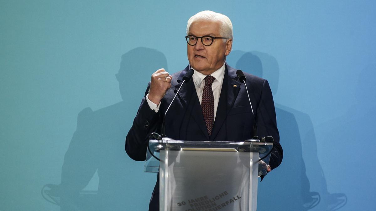 Alman Cumhurbaşkanı Steinmeier: İnsanları sömürdük, yağmaladık ve öldürdük