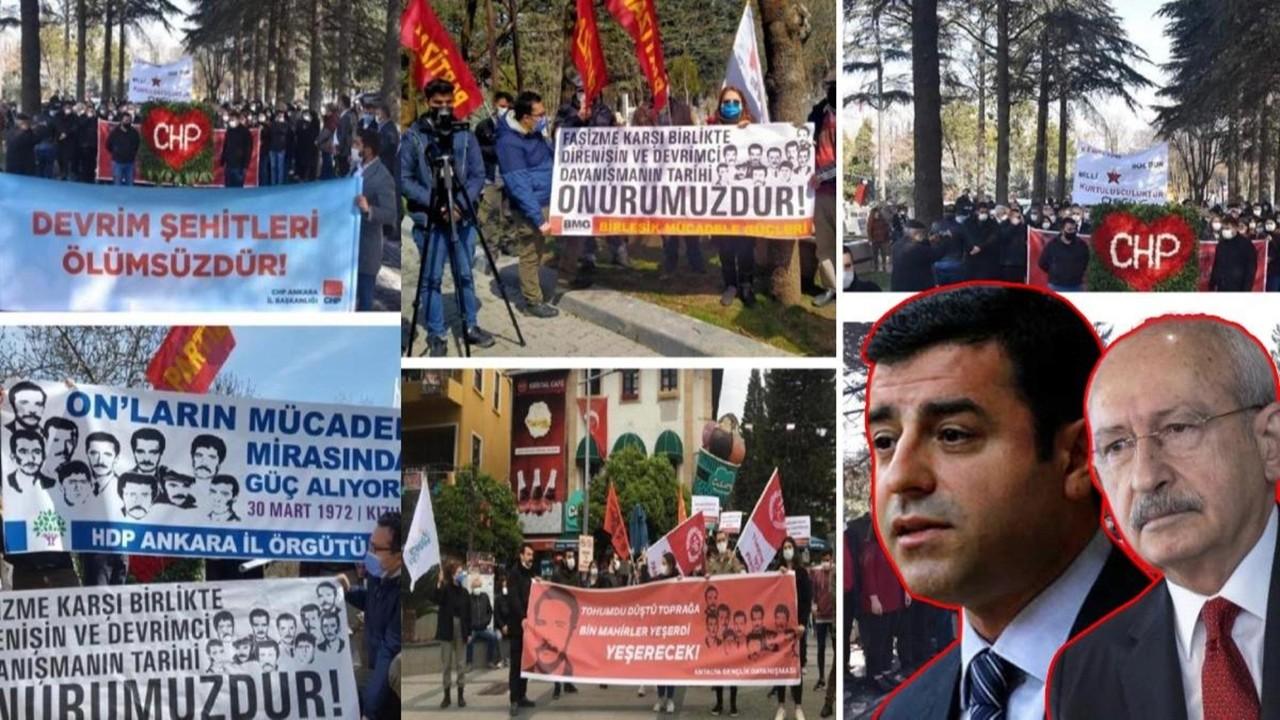 CHP, HDP ve sol örgütler bir arada