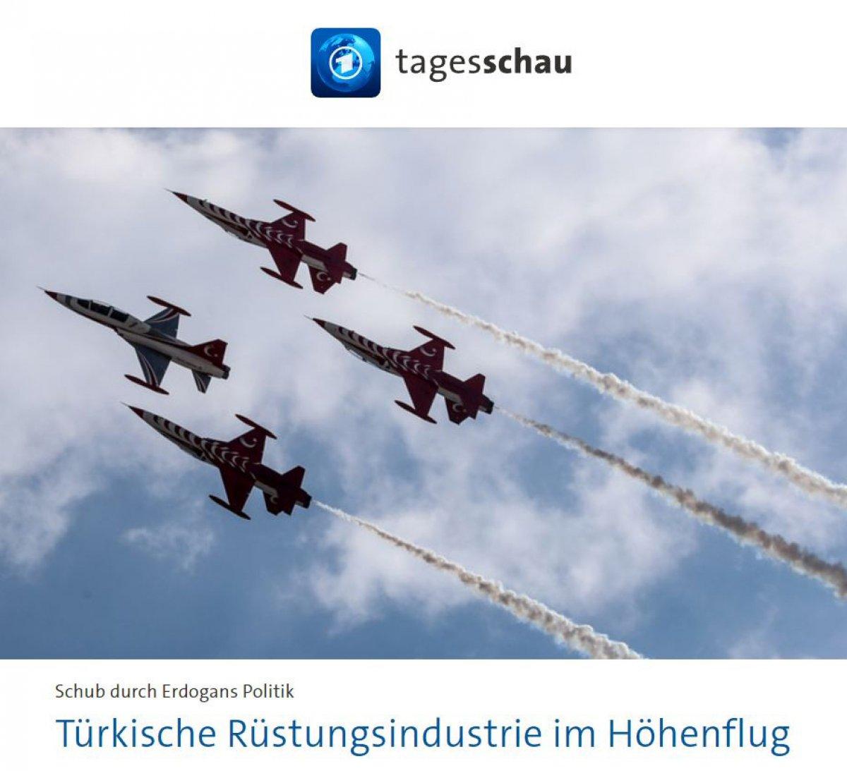 Alman basını: Türk silah sanayisi yükseliyor