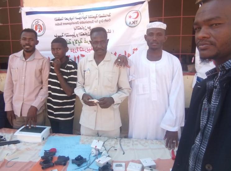 TİKA, Sudan'da istihdama yönelik projelerini sürdürüyor