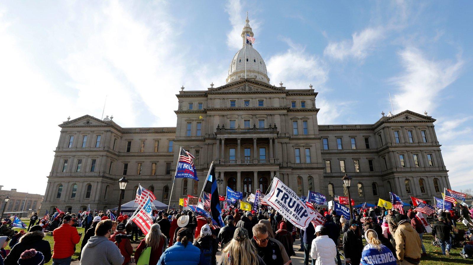 Michigan eyaletindeki seçim sonuçları Biden'ın kazandığı yönünde tescil edildi
