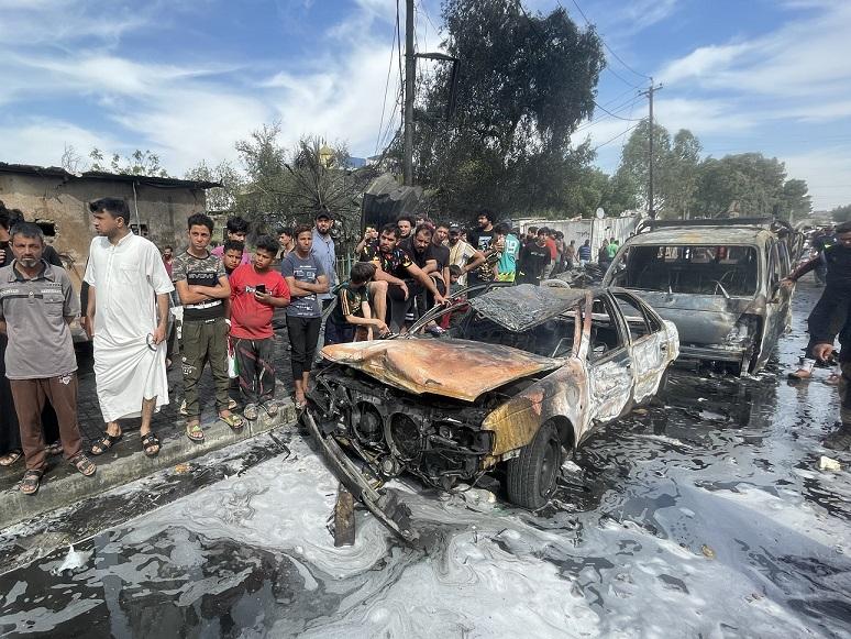 Irak'ın başkenti Bağdat'ta patlama: 1 ölü, 12 yaralı