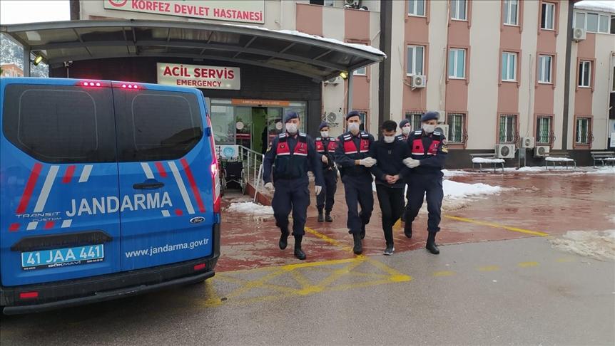 Şemdinli'de polis aracına ve askeri konvoya saldırı şüphelisi PKK'lı terörist Kocaeli'de yakalandı