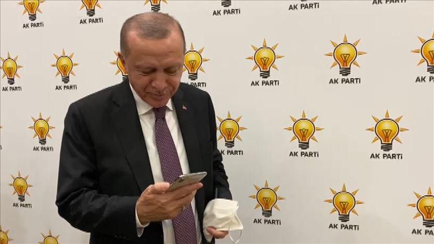 Cumhurbaşkanı Erdoğan, İzmir depreminin simge isimlerinden Ayda ile telefonda görüştü