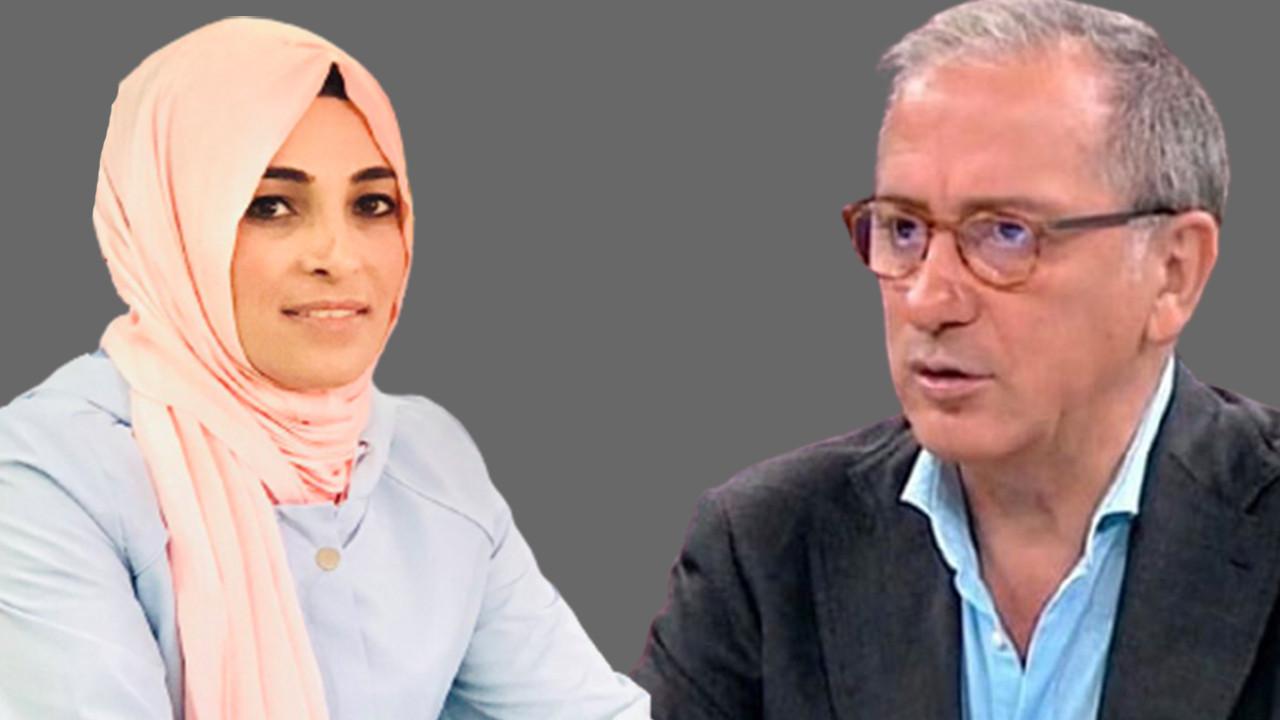 Fatih Altaylı'dan kadın yazara ağır hakaret