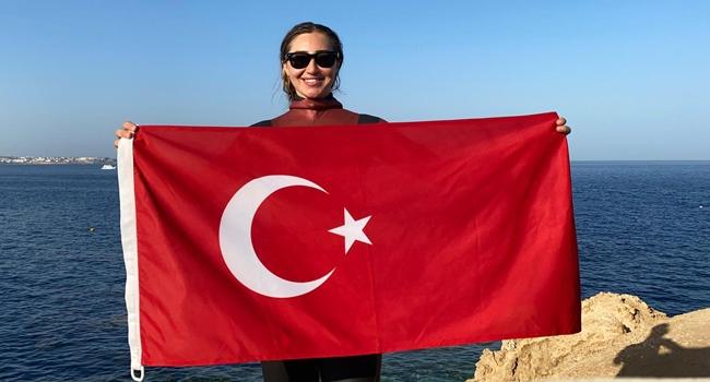 Şahika Ercümen'den Mısır'da Türkiye rekoru