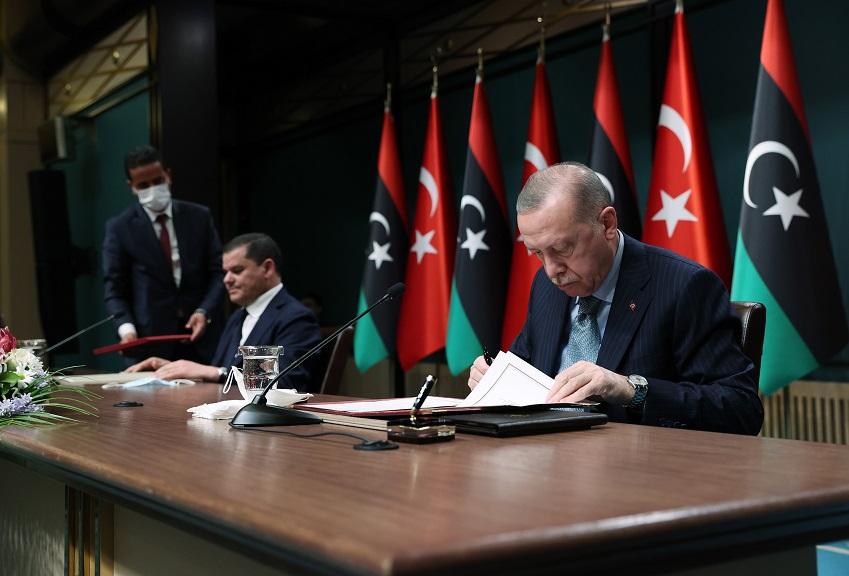 Türkiye ile Libya arasında 5 anlaşma imzalandı