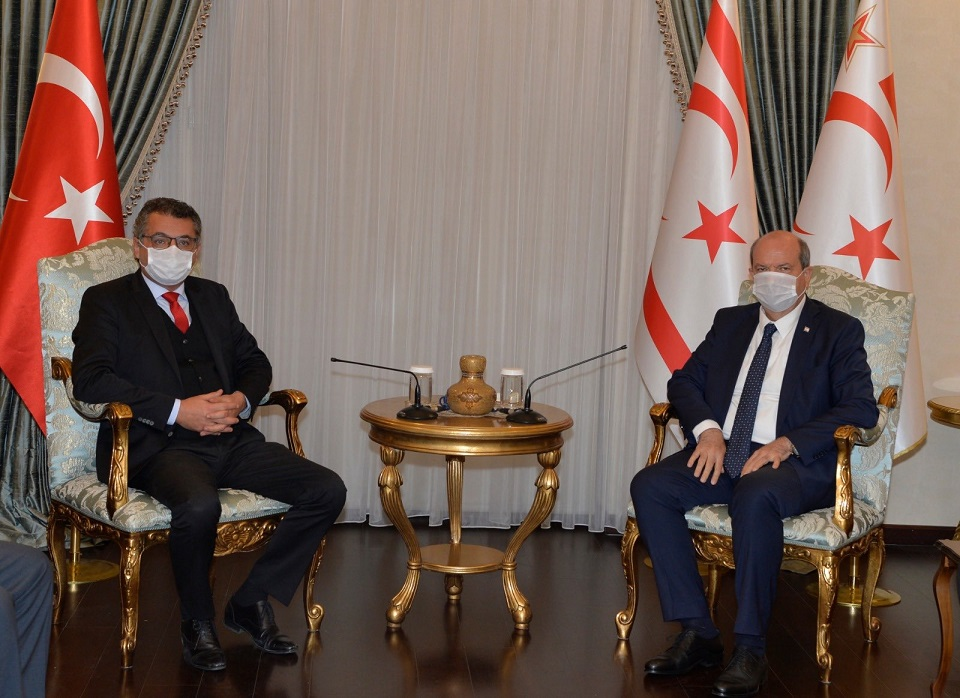 KKTC'de CTP Genel Başkanı Erhürman, hükümet kurma görevini Cumhurbaşkanı Tatar'a iade etti