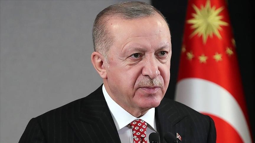 Cumhurbaşkanı Erdoğan, Erzurum Kongresi'nin 102. yıl dönümü dolayısıyla mesaj yayımladı