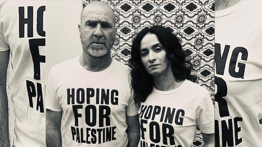 Fransızların efsane futbolcusu Cantona'dan Filistin için yapılan kampanyaya destek