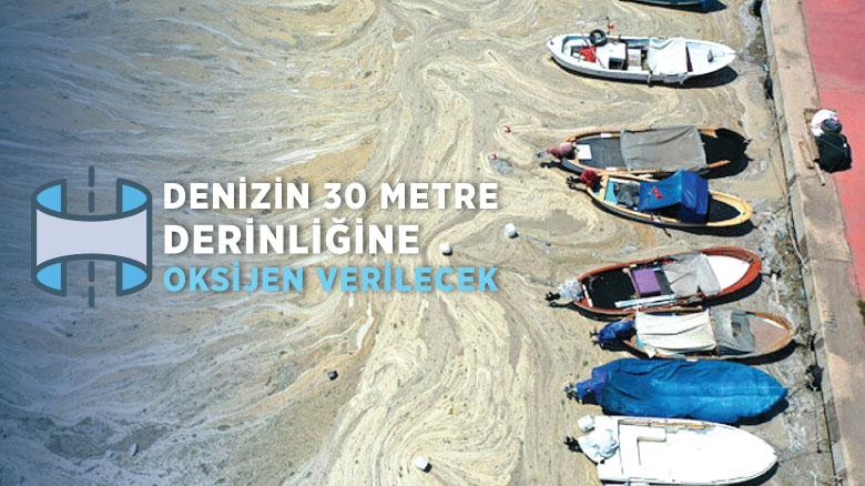 Denizin 30 metre derinliğine oksijen verilecek