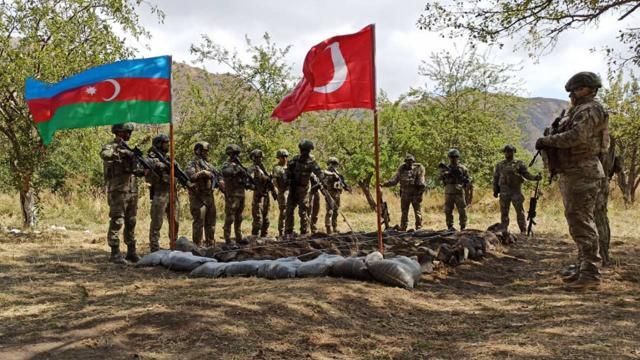 Azerbaycan Dışişleri Bakanlığı'ndan Laçın'daki ortak tatbikata dair açıklama