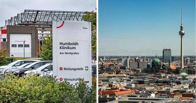 Berlin'de bir hastane, Kovid-19'un daha hızlı yayılan türünün tespit edilmesi üzerine karantinaya al