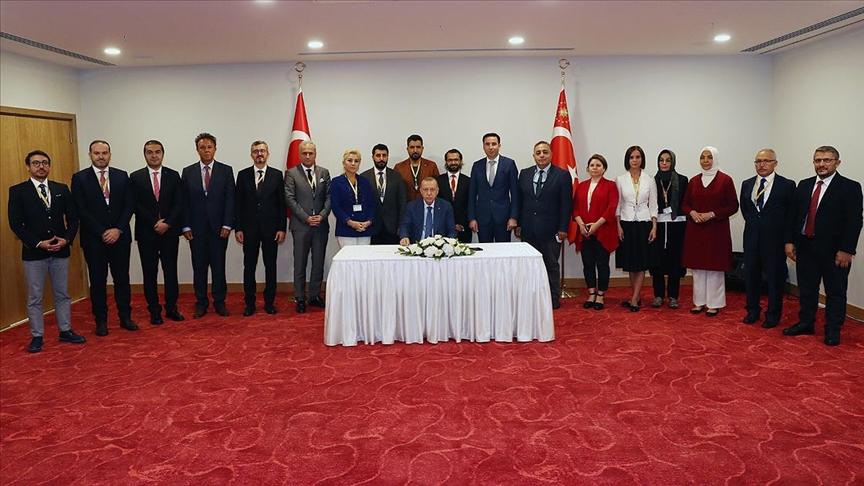 Erdoğan'dan KKTC mesajı: Karşılarında dimdik duracağız