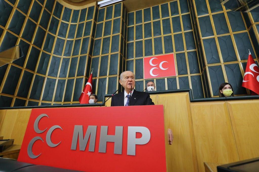 """Devlet Bahçeli: """"Erken seçim, baskın seçim yoktur"""""""