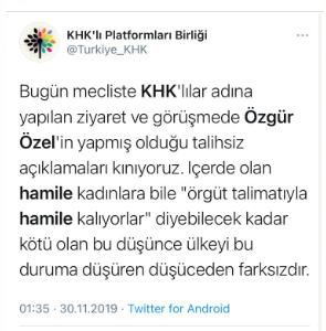 """Özgür Özel: """"FETÖ'cüü kadınlar hapse girmemek için talimatla hamile kalıyor"""""""