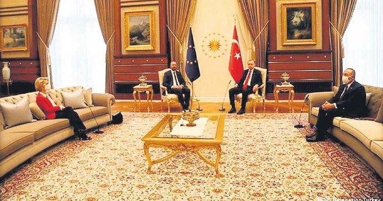 Fransız medyası, Ankara'daki protokol olayında AB'yi suçladı