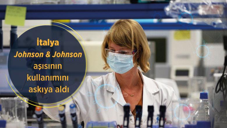 İtalya Johnson & Johnson aşısının kullanımını askıya aldı