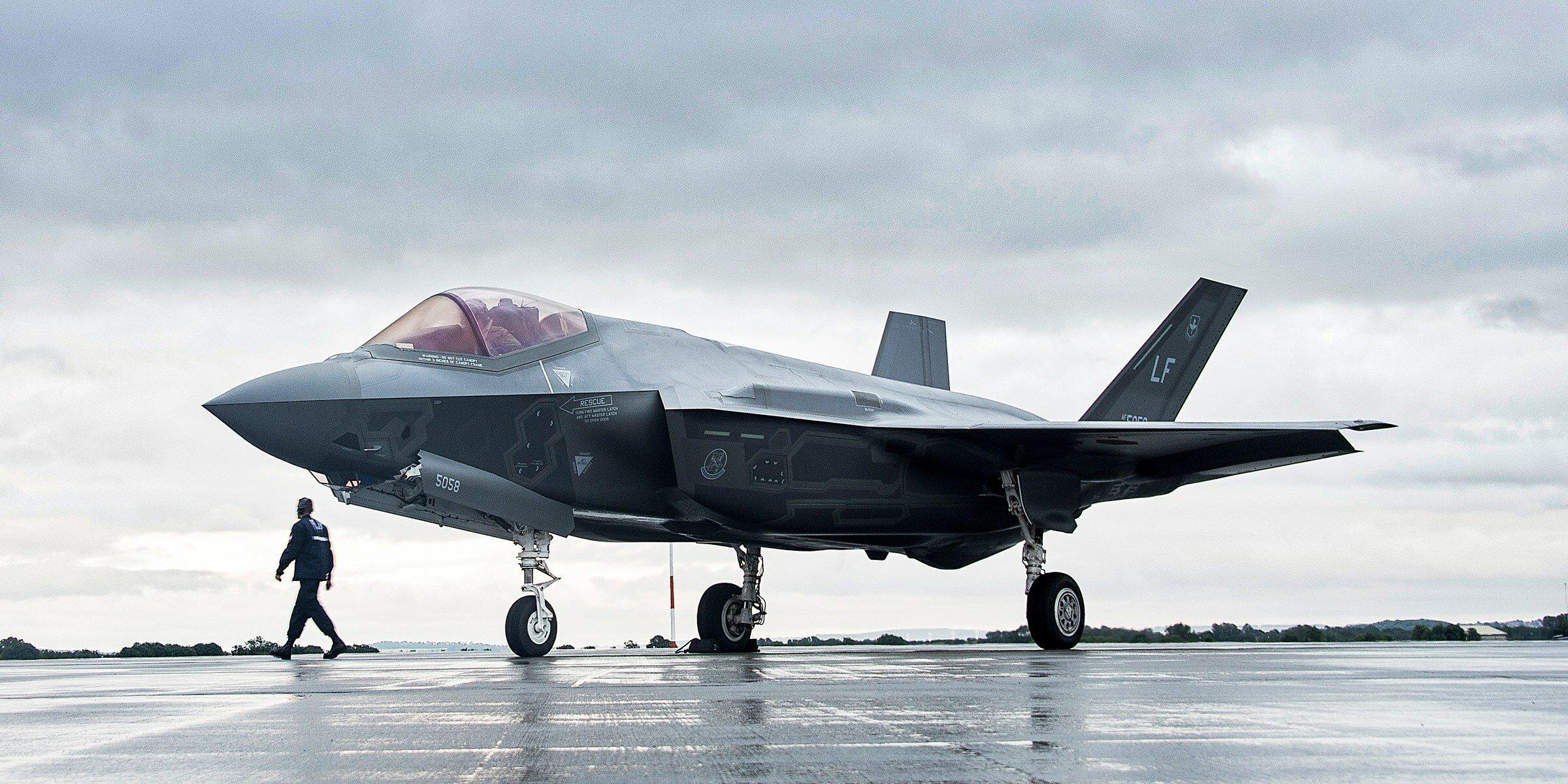 ABD Hava Kuvvetleri'nin elindeki F-35'lerin yüzde 15'inin motoru çalışmıyor
