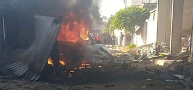 Afrin'de terör saldırısı: 5 yaralı