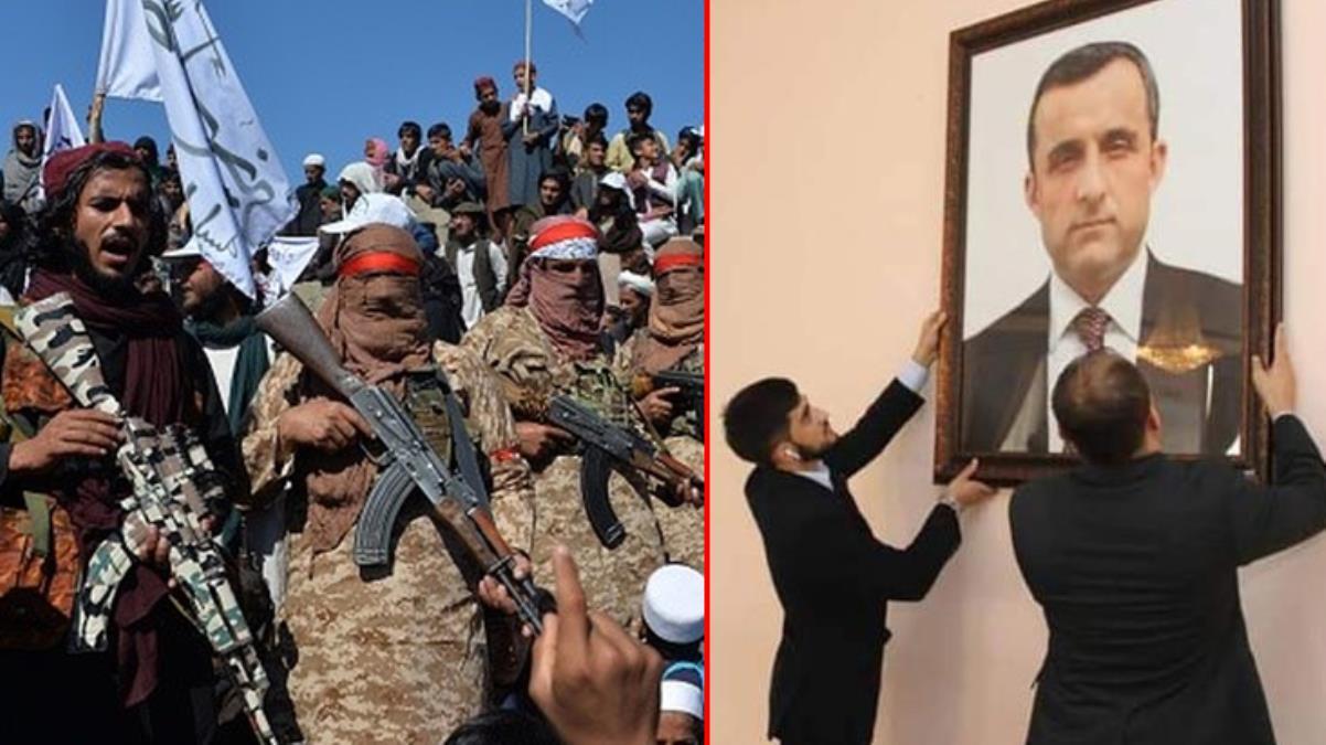Afganistan'da kendini Cumhurbaşkanı ilan eden Emrullah Salih, Tacikistan'a kaçtı