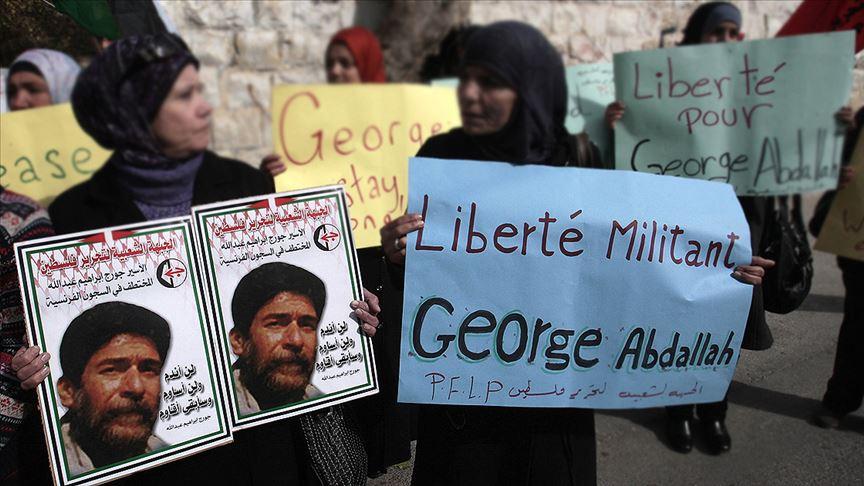 """""""Fransa'nın en eski mahkumu"""" Lübnanlı George Abdullah cezası bitmesine rağmen parmaklıklar ardında"""