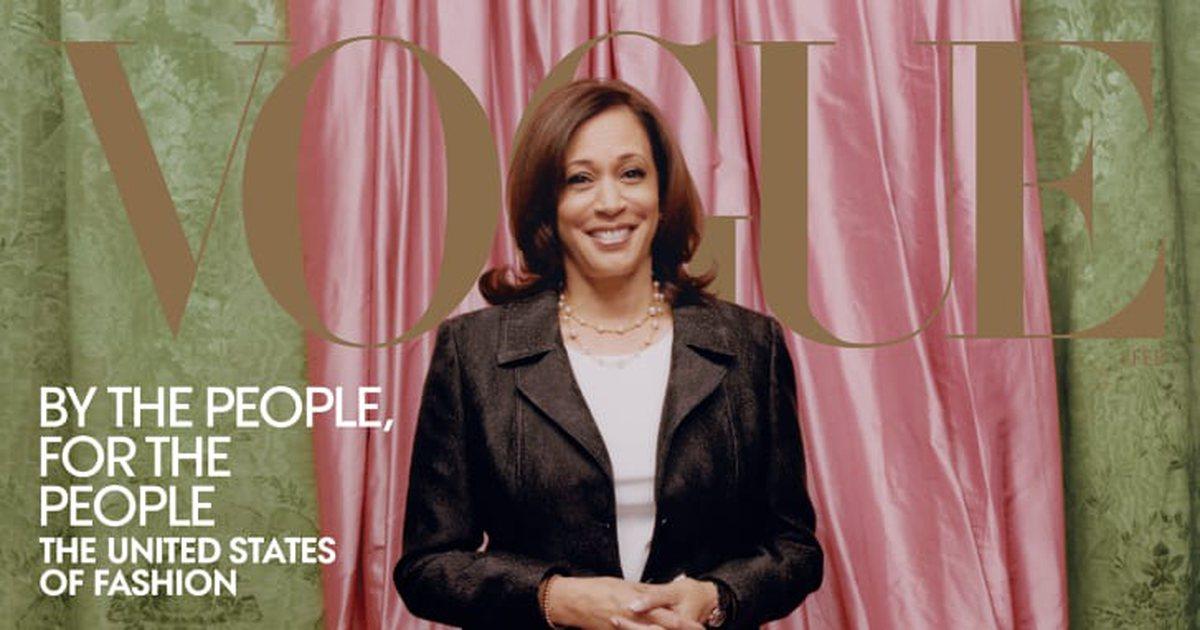 Vogue dergisinin Kamala Harris'li kapağına 'cilt beyazlatma' tepkisi
