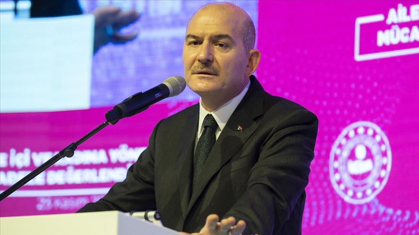 İçişleri Bakanı Soylu: Erkeklere sesleniyorum, kendinize gelin