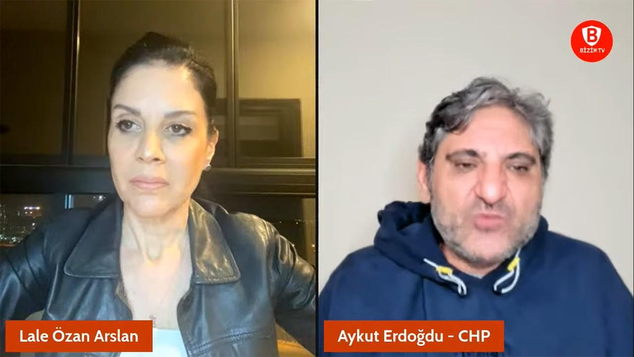 CHP'li milletvekili yayında bunu söylerken o skandal bildiri yayınlandı