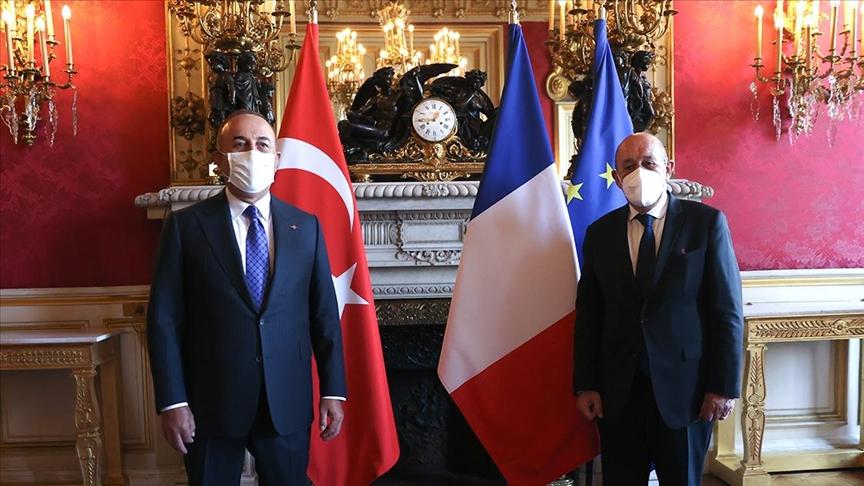 Fransa'dan Çavuşoğlu-Le Drian görüşmesine ilişkin açıklama: