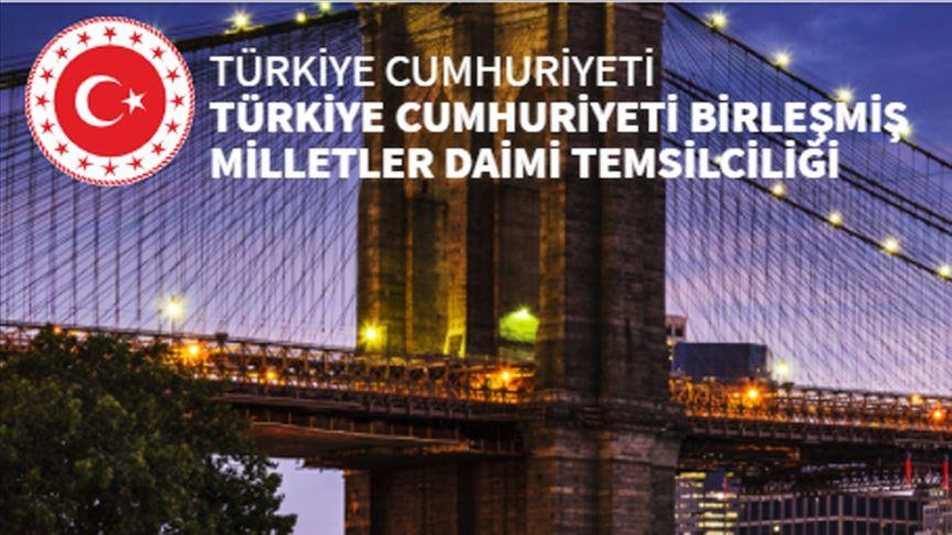 Türkiye'nin BM Daimi Temsilciliğ, İsrail'in BM Büyükelçisinin Enes Kanter paylaşımına tepki gösterdi