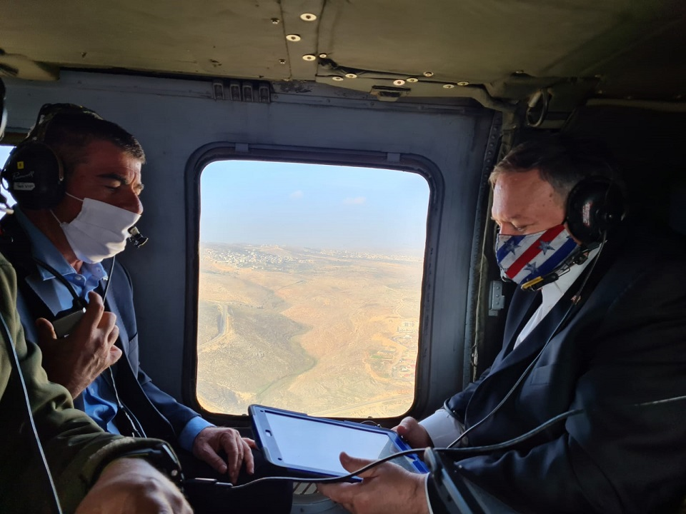 ABD Dışişleri Bakanı Pompeo'dan işgal altındaki Golan Tepeleri'ne ziyaret