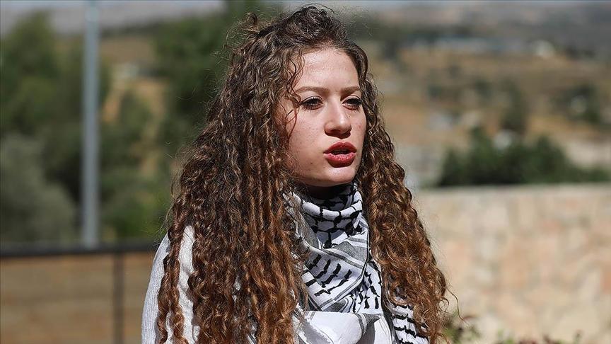 'Filistin'in cesur kızı' Temimi dünyaya seslendi: Filistinli kadınlara da diğerleri gibi sahip çıkın