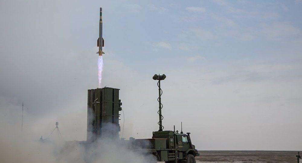 Yerli hava savunma sistemi HİSAR-O+ testlerde hedefleri vurdu