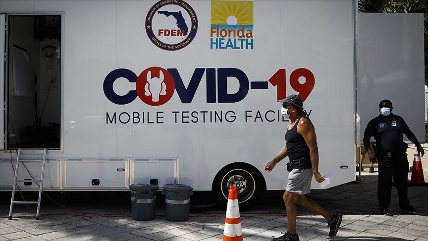 ABD'de Kovid-19 nedeniyle son 24 saate 1166 kişi öldü