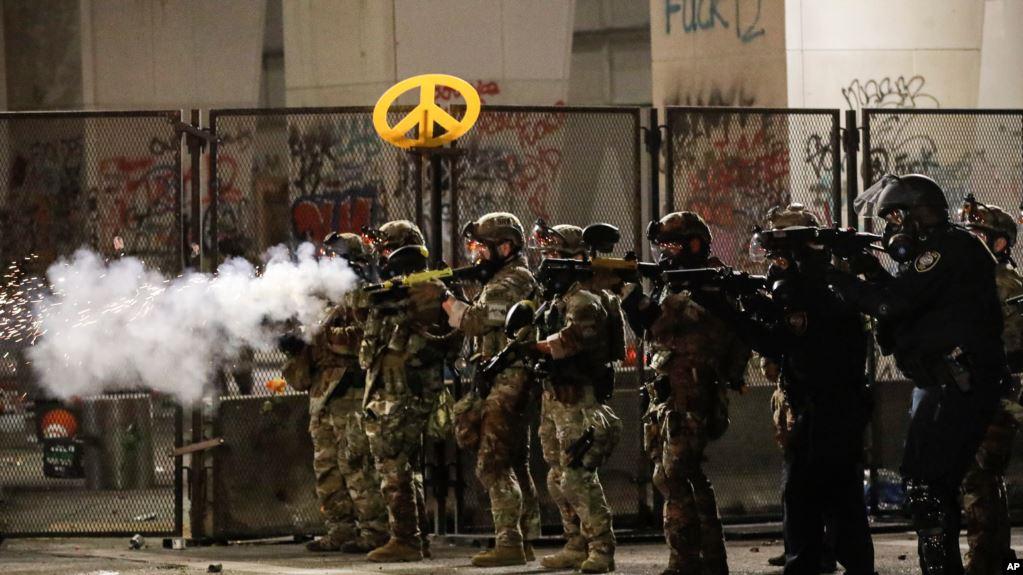 ABD'nin Portland kentinde federal güvenlik güçlerinin yetkileri kısıtlandı