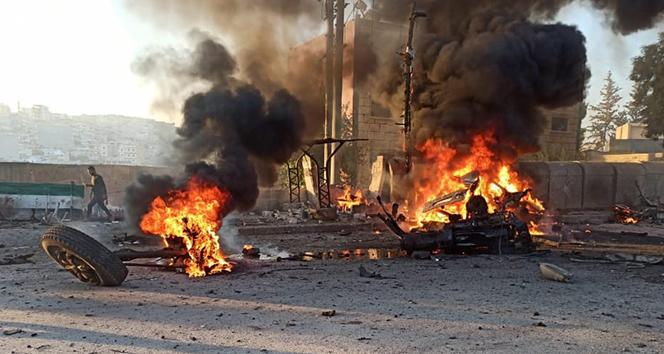 Afrin'de terör saldırısı: 3 ölü, 32 yaralı