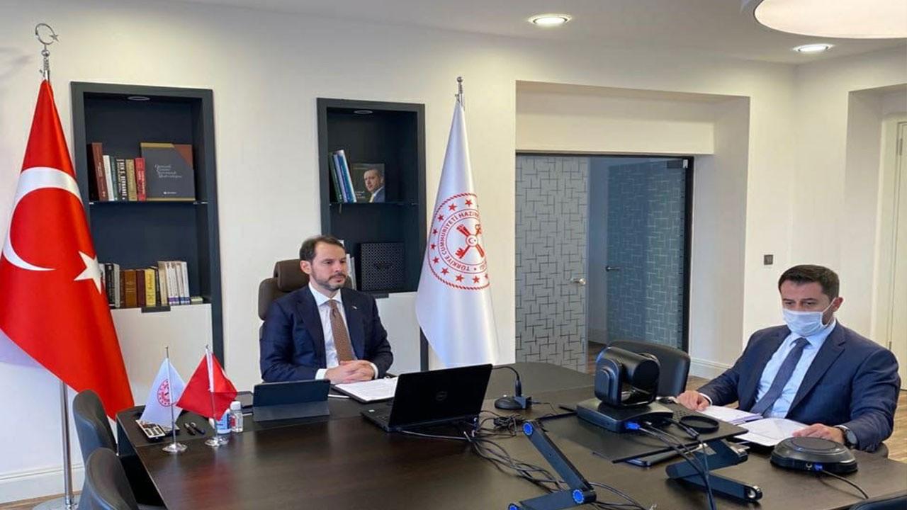 Bakan Albayrak, G-20'deki mevkidaşlarıyla görüştü