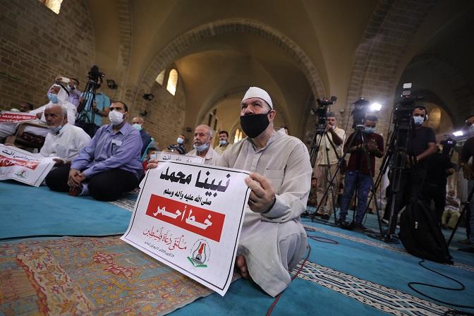 Gazze'den İslam ülkelerine Fransız mallarını boykot çağrısı