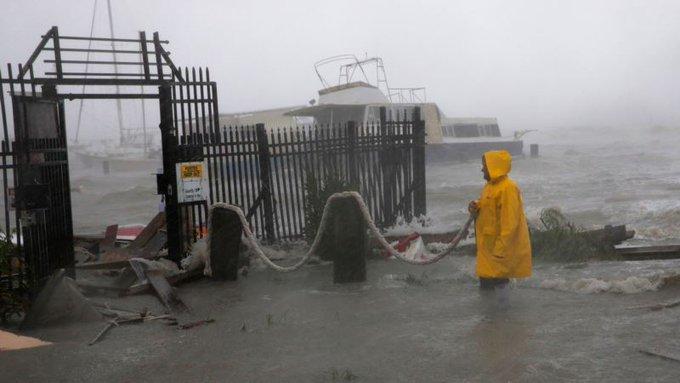 Hanna Kasırgası Teksas'ta Tropik Fırtınaya Dönüştü