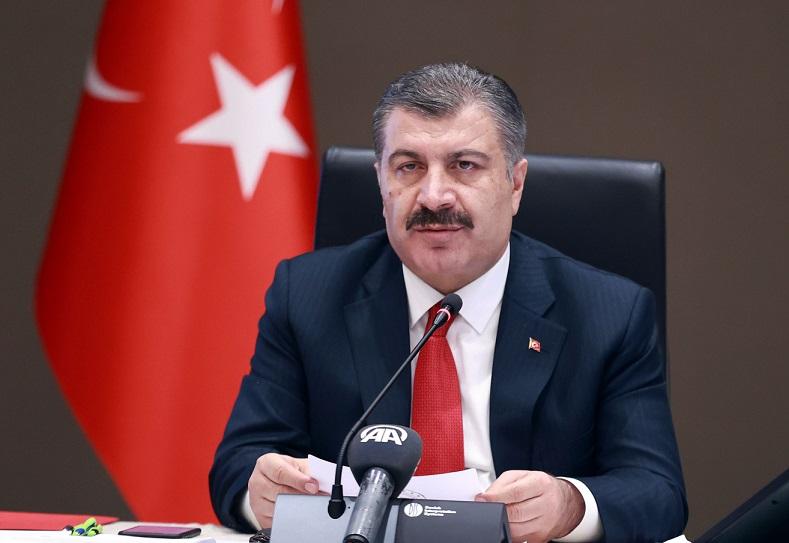 Sağlık Bakanı Fahrettin Koca, Koronavirüs Bilim Kurulu Toplantısı'nın ardından açıklamada bulundu
