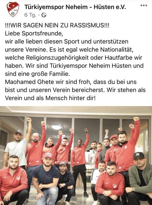 Türkiyemspor Neheim-Hüsten ile FC Erlenbruch-Neheim, deplasmanda ırkçı hakaretlere hedef oldu