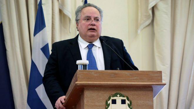 Yunanistan Eski Dışişleri Bakanı Kocyas'tan, Mısır'la yapılan anlaşmaya eleştiri