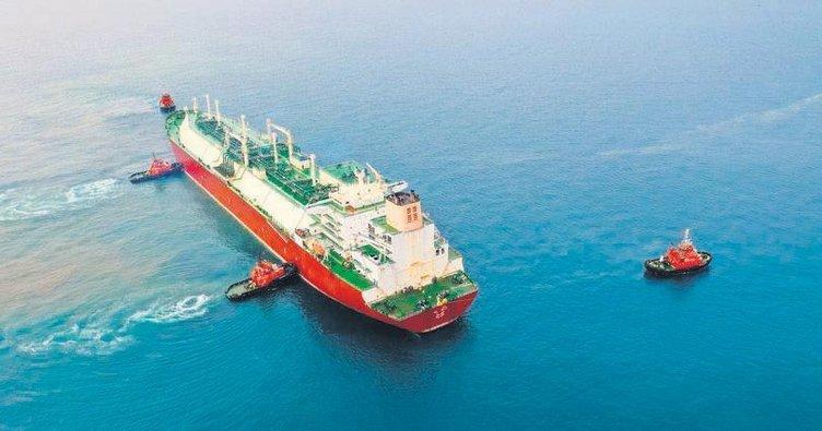 Türkiye'nin ilk LNG gemisi Hatay yolunda